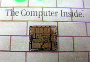 image of intel 386 chip close-up
