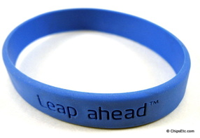 image of an Intel leap ahead logo promotion