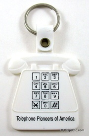 AT&T telephone keychain