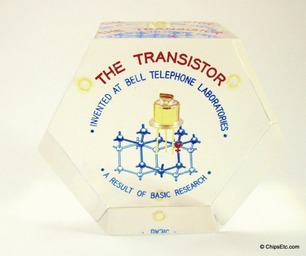 Bell Labs Transistor Paperweight