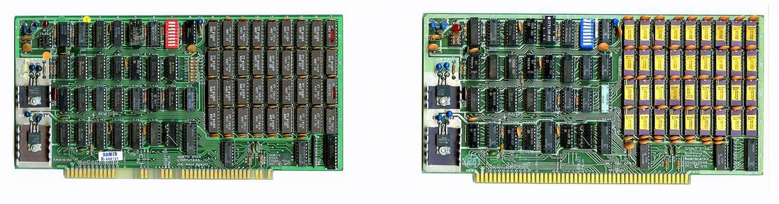 16K / 32K S-100 Bus RAM Memory Cards (NorthStar Computers