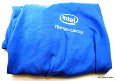 image of Intel 英特尔公司 chengdu China earhtquake quake relief shirt