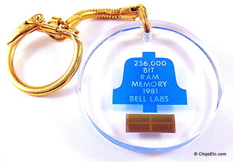 bell labs RAM memory keychain