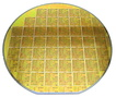 image of a SIlicon wafer