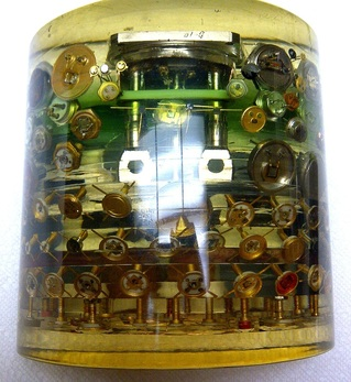 image of electronics paperweight