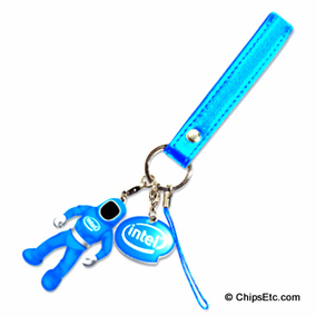 intel smartphone strap with charm