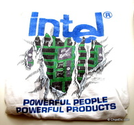 Intel i486 486 computer collectible shirt