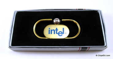 image of an Intel promotional money clip