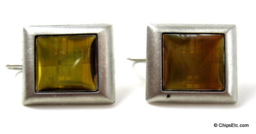 Intel Pentium II chip Earrings