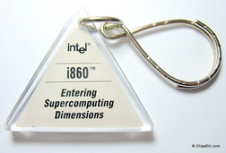 image of an intel i860 keychain