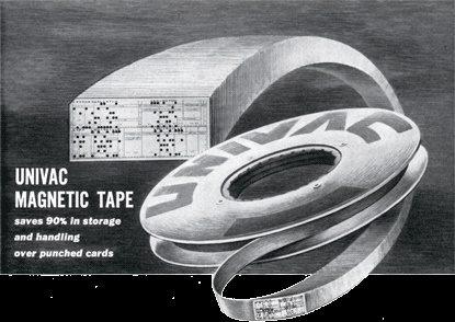 Univac Computer Magnetic Tape
