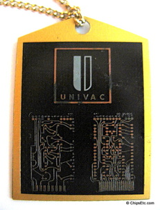 image of a Univac Circuit Board