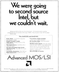 image of an AMD 9130 9140 RAM intel ad