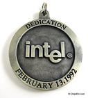 image of intel dedication of robert n. noyce building santa clara medallion