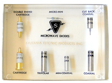 sylvania electric microwave diodes