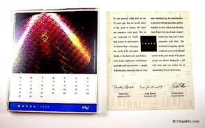 Intel 30th anniversary collectible CD