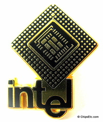 image of an intel chip memorabilia