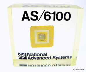 image of a Motorola & National Advanced Systems NAS AS/6100 logic chip