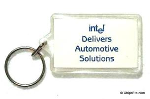 intel automotive keychain