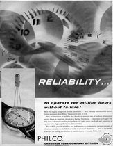 image of philco transistor ad
