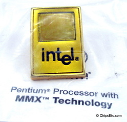 image of Intel Pentium cpu chip pin
