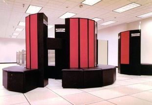 image of a Cray X-MP/48 super computer