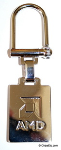 image of an AMD keychain