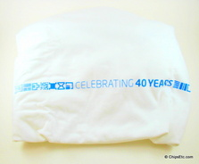 Intel celebrating 40th anniversary shirt rare collectible