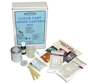 resin casting kit components