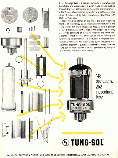vacuum tube components
