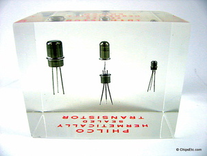 image of a philco transistor paperweight