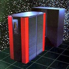 image of a A Cray Y-MP2E computer