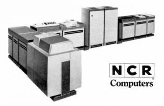 image of an NCR Century 100 Computer System from 1968