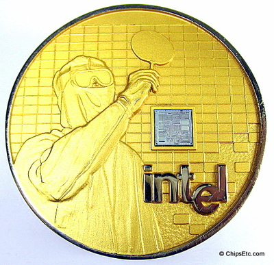 Intel 286 Microprocessor chip