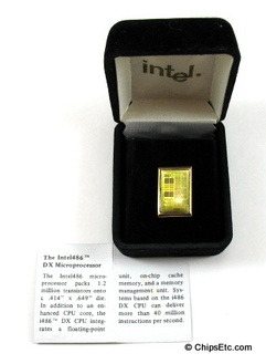 Intel 486 cpu jewelry