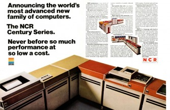 image of an NCR Century Computer Series Ad from 1968