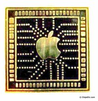 Apple circuitry pin