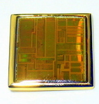 image of Intel Pentium computer Chip Pin