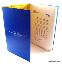 Intel 35th booklet