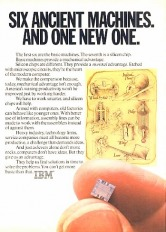 IBM Silicon Computer Chip Ad from 1980
