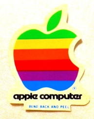 Apple Computer sticker