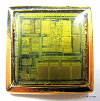 Intel 386 SL processor jewelry