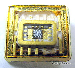 gold ceramic IC chip