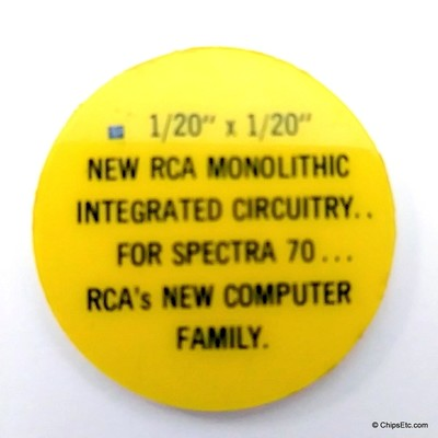 RCA integrated circuit