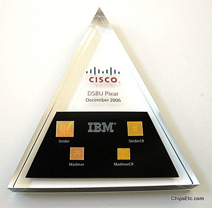 CISCO IBM ASIC switching chips for Pixar