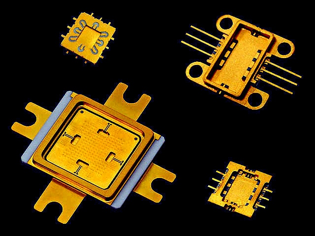 kyocera Ceramic Gold IC Packages Automotive Electronics