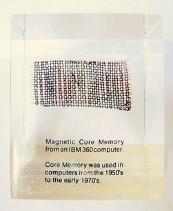 IBM 360 magnetic core memory