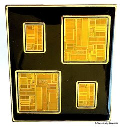 Intel processors gold pin