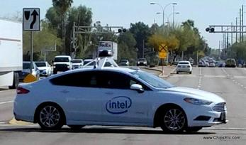 Intel, Autonomous car, Self Driving Car