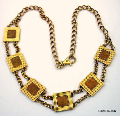 Intel chip necklace